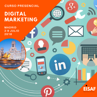 Curso presencial digital marketing