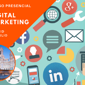 Cursos superiores presencial digital marketing